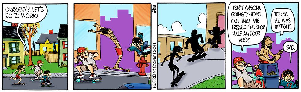 Hubris- Commute dispute