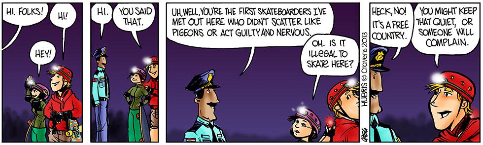 Hubris- Skate Free