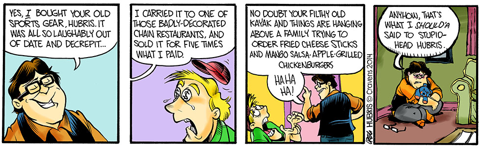 Hubris- Greasy Jack's Family Dining Fun-porium