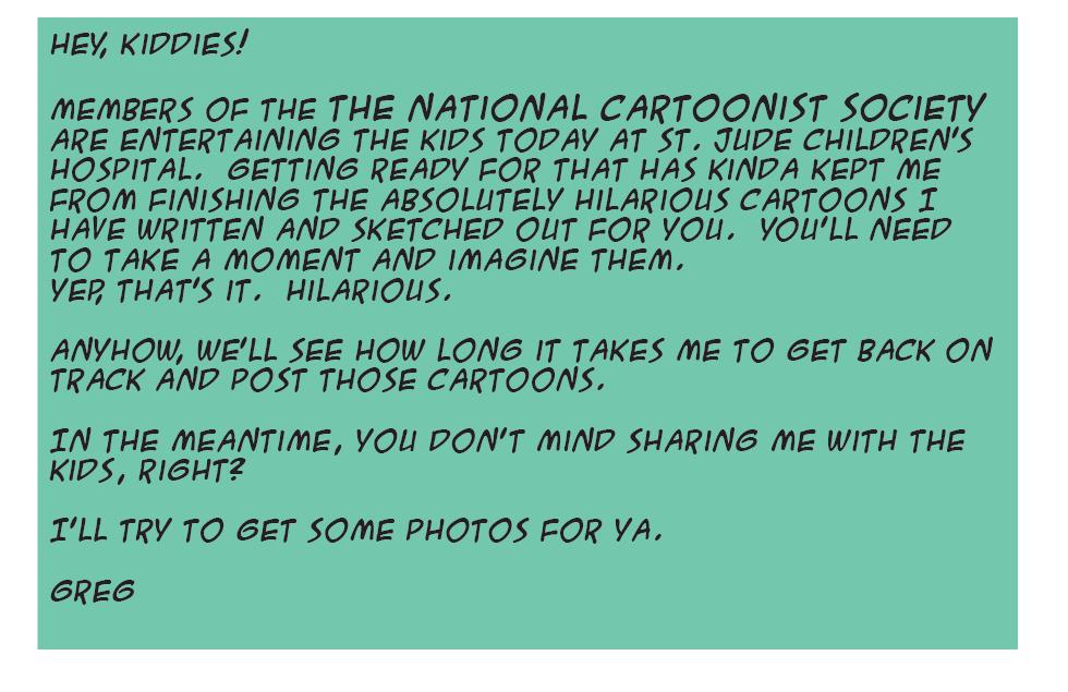 Hubris- Cartooning for Kids