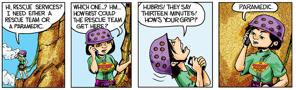 Hubris- Call, waiting.