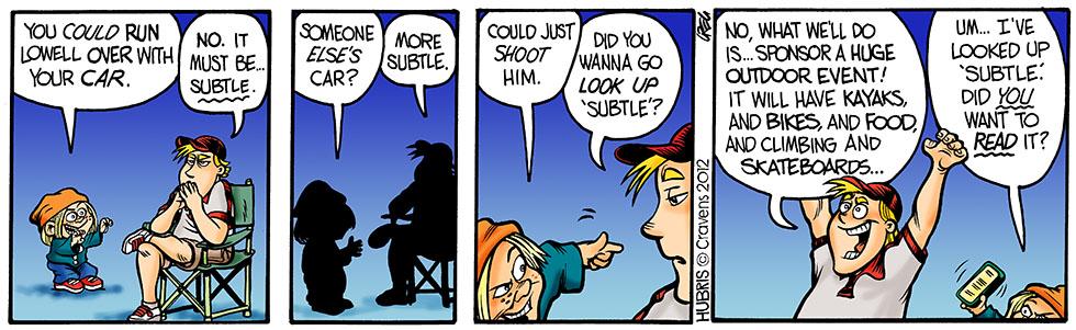 Hubris- Subtle – Hubris Comics