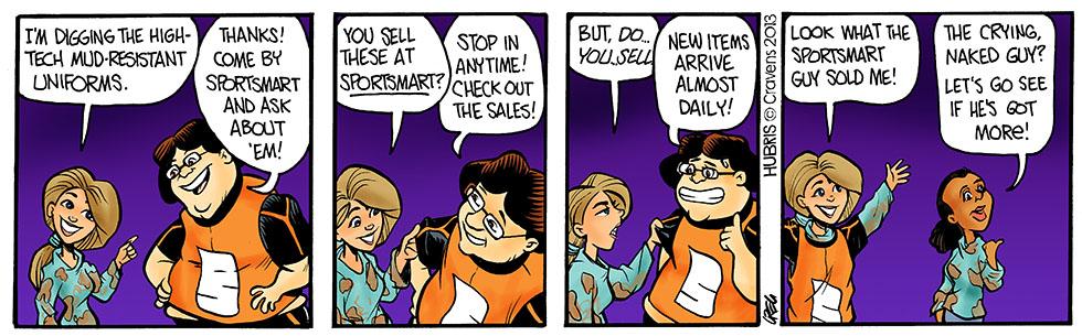 Hubris- Customer's always right