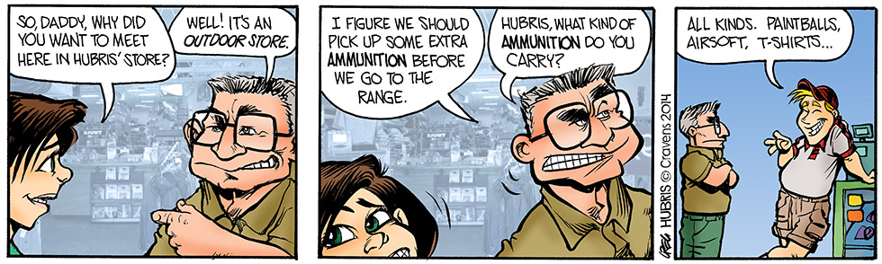 Hubris- loaded question