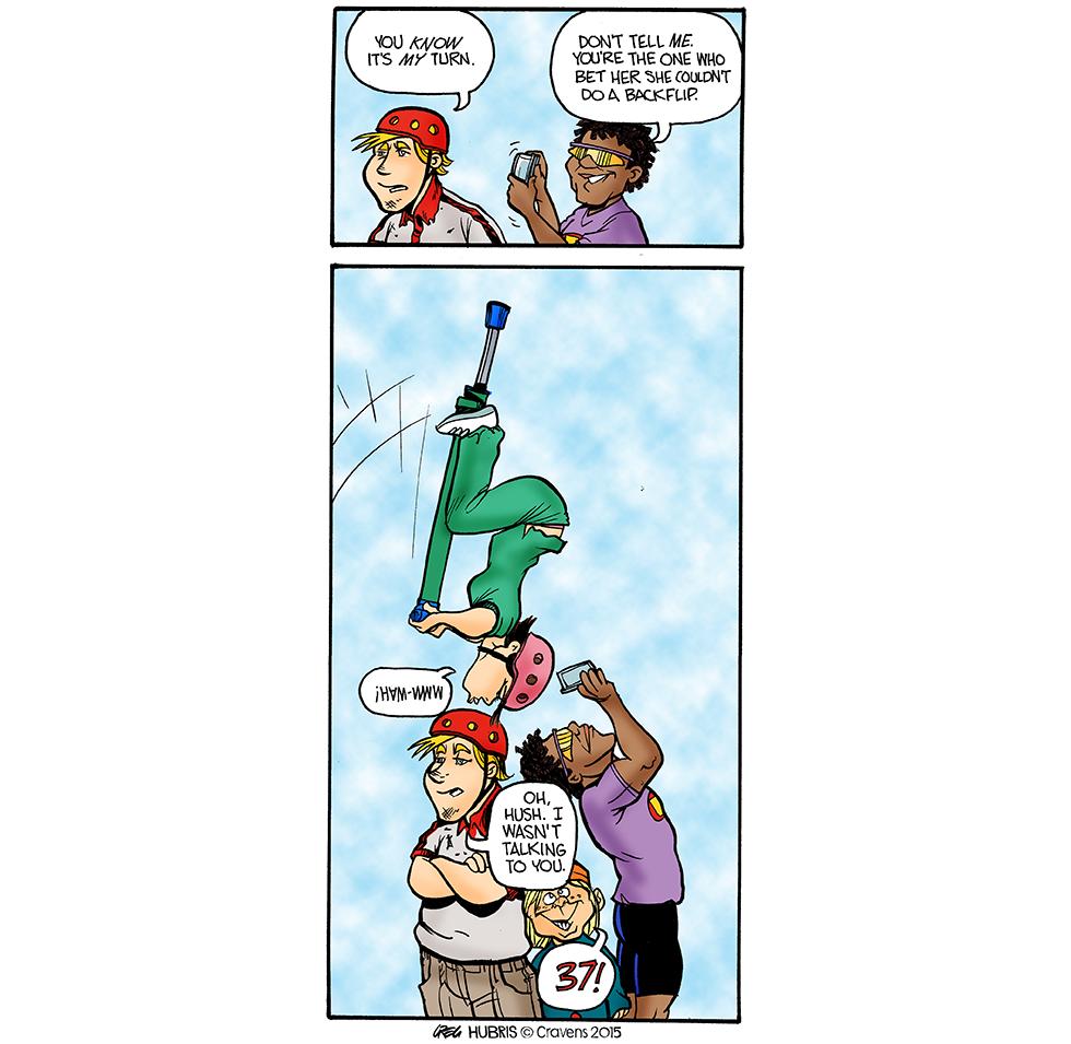 Hubris- Heels Overhead