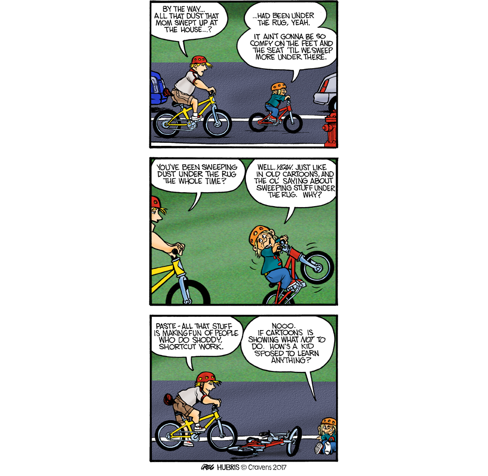 Q. How many cartoonists with ADD does it take to screw in a lightbulb? 