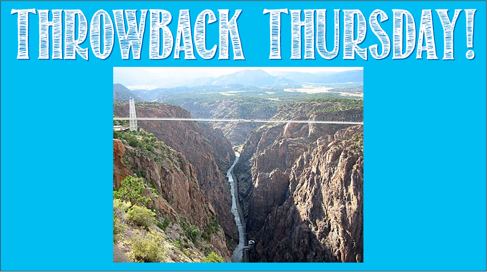 Throwback Thursday- Boy Gorge