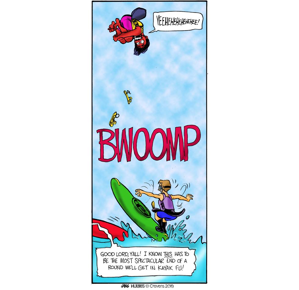 """""""Bwoomp""""  Onomatopoeia!"""