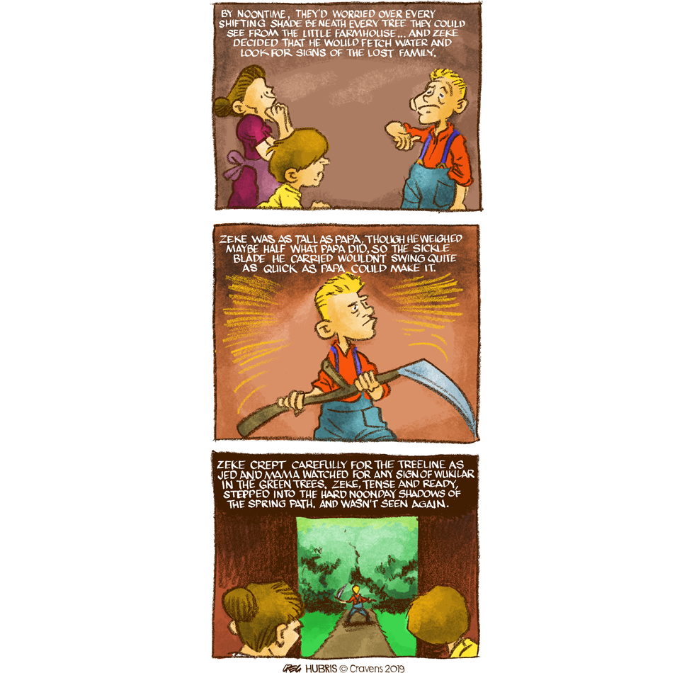Color still suit everyone? I framed that green in the third panel prettily, didn't I?