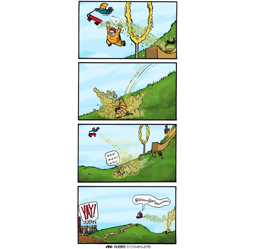 Hubris- Jump! Jump like the Wind!