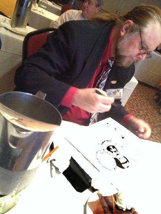 Guy Gilchrist Draws Nancy