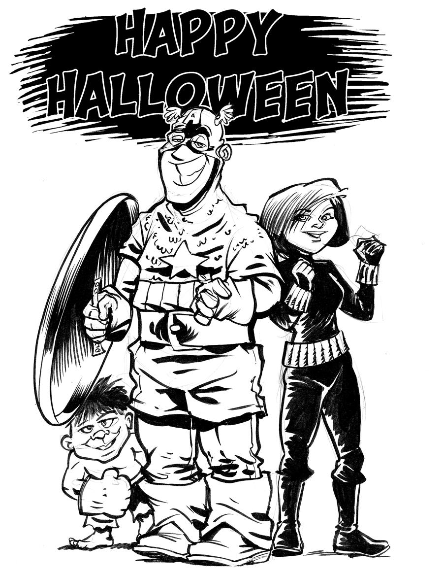 Hubris- Happy Halloween Again
