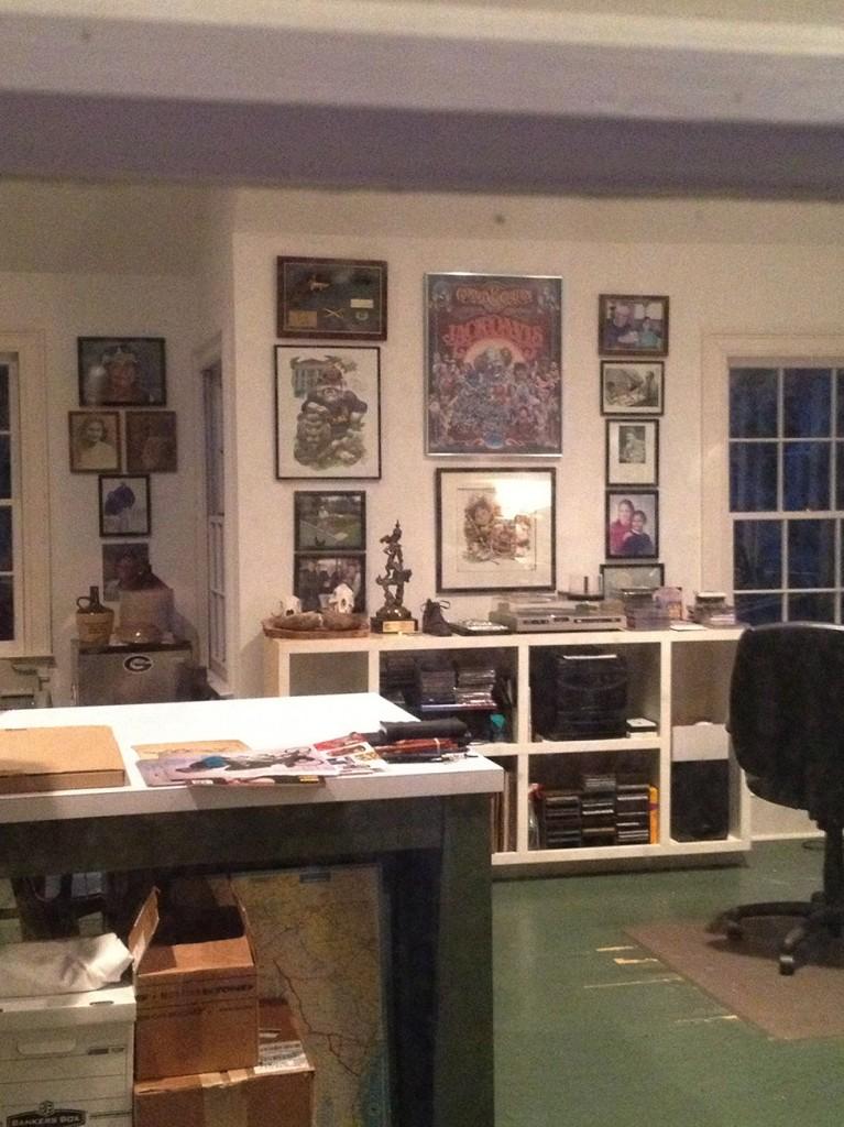 Jack Davis' Studio