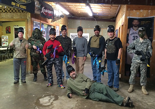 The Paintballers