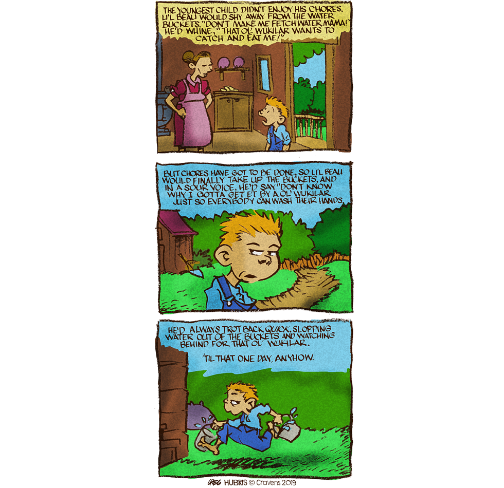Hubris- Wukilar Story